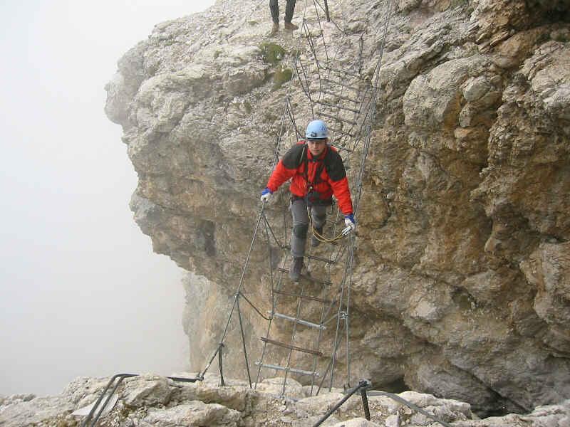 Klettersteig Dolomiten : Klettersteige in den dolomiten